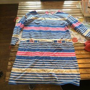 Lily Pulitzer stripe shift dress